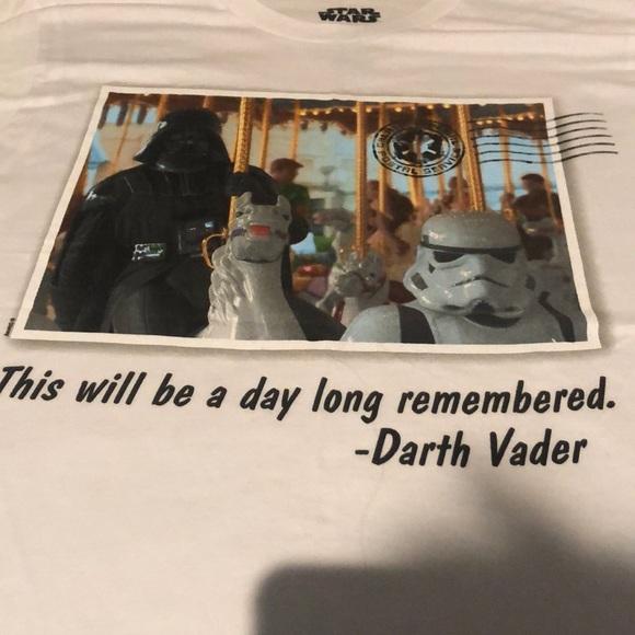 Star Wars Disney limited edition shirt